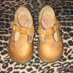 Healthtex leather baby shoes